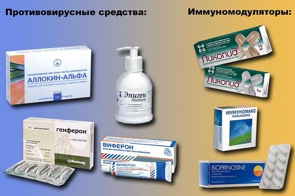 противовирусные препараты при впч