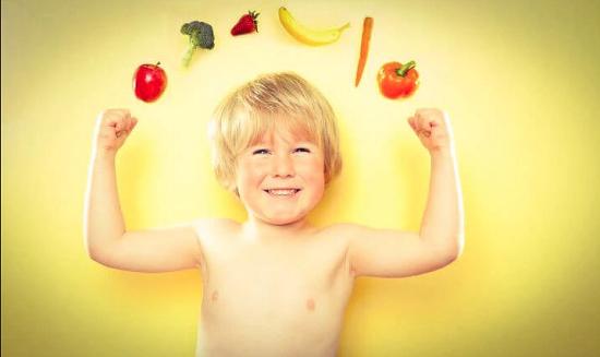 крепкий иммунитет у ребенка