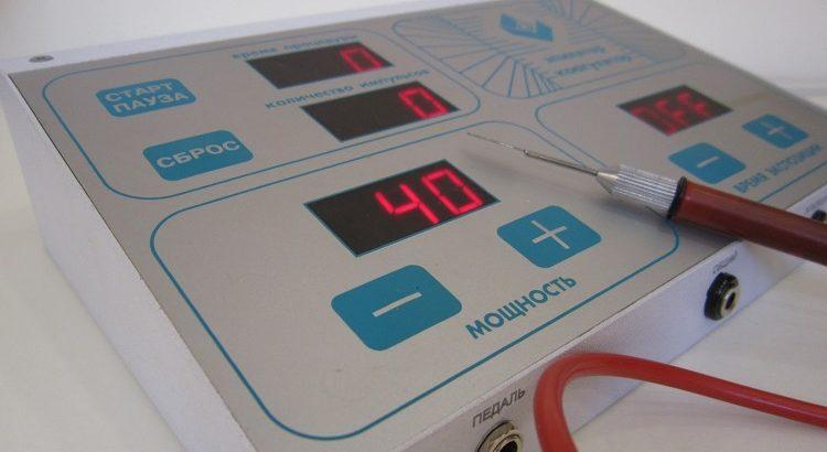 прибор для электрокоагуляции